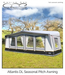 Camptech Atlantis DL Luxury Seasonal Awning Size 17 (Recon)