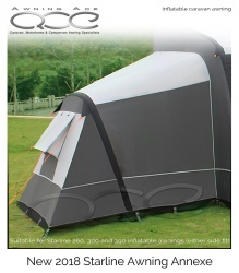 2018 Starline Inflatable Annexe - Store Return