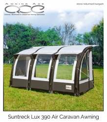 SunTreck Lux 390 Inflatable Caravan Awning (Used)