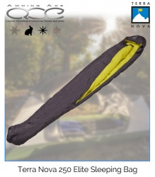 Terra Nova Elite 250 Duck Down Sleeping Bag