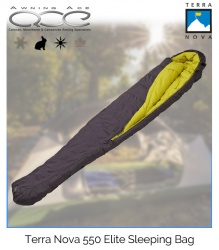 Terra Nova Elite 550 Duck Down Sleeping Bag
