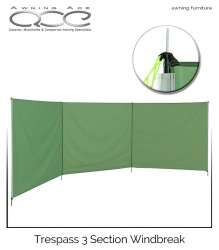 Trespass 4 Pole Windbreak - as new