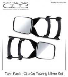 Towing Mirrors (Twin Pack) Clip On