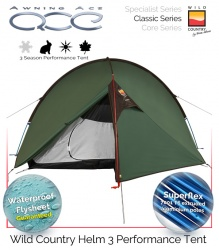 Wild Country Helm 3 Performance Tent