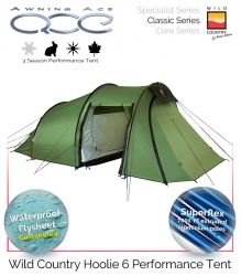 Wild Country Hoolie 6 Performance Tent