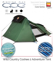 Wild Country Coshee 2 Performance Tent