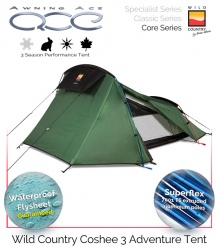 Wild Country Coshee 3 Performance Tent