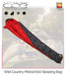 Wild Country Mistral 600 Sleeping Bag