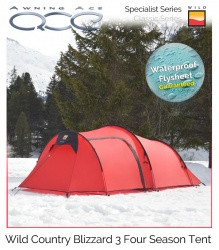 Wild Country Blizzard 3 Specialist 4 Season Tent
