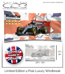 Lewis Hamilton F1 World Champion Limited Edition Windbreak