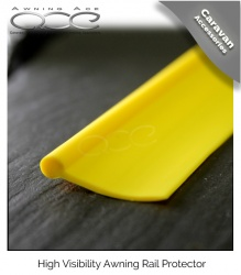 Caravan Awning Rail Protection Strip - Rail Protector Yellow - Sold by the metre