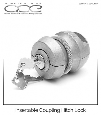 Insertable Coupling Trailer Hitch lock